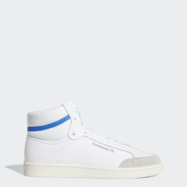 Originals White Americana Hi Shoes