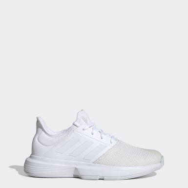 Women's Tennis White GameCourt Shoes