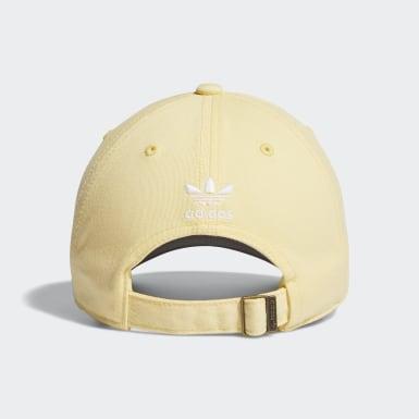 Casquette Strap-Back Relaxed jaune Femmes Originals