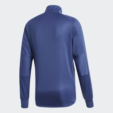 Heren Voetbal blauw Argentinië Trainingsshirt