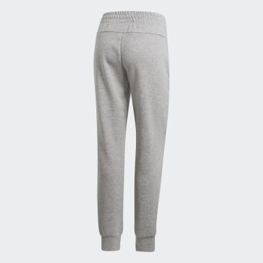 Dames Athletics Grijs Essentials Effen Broek