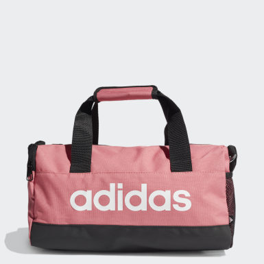 Lifestyle Pink Essentials Logo Duffel Bag Extra Small