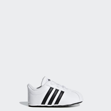 Infant Sport Inspired White VL Court 2.0 Shoes