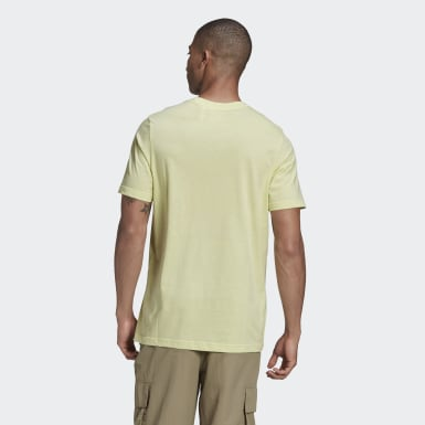 Heren Originals Geel Adicolor Essentials Trefoil T-shirt