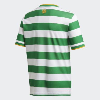 Camisola Principal 20/21 do Celtic FC Branco Criança Futebol