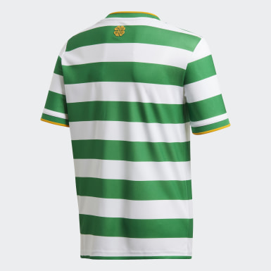 Maillot Domicile Celtic FC 20/21 Blanc Enfants Football