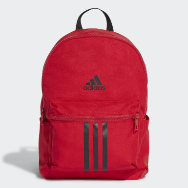 Kids 4-8 Years Running Red Classic Backpack
