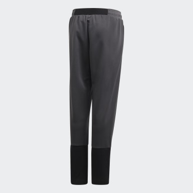 Kids Training Grey TAN Training Tracksuit Bottoms