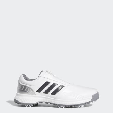 Men's Golf White CP Traxion Boa Shoes