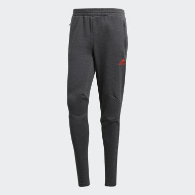 Men Football Grey Seasonal Special FC Bayern Low-Crotch Pants