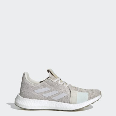 Women Running Grey Senseboost GO Shoes