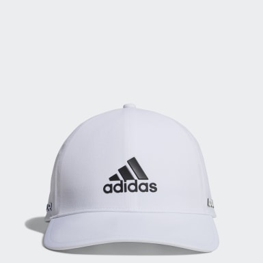 Men Golf White Tour Cap