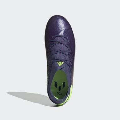 Boys Fodbold Blå Nemeziz Messi 19.1 Firm Ground støvler