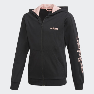 Girls Training Black Kimana Hoodie