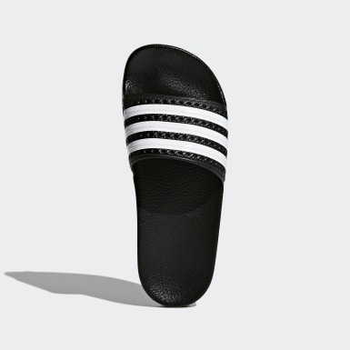 Kids Originals Black adilette Slides