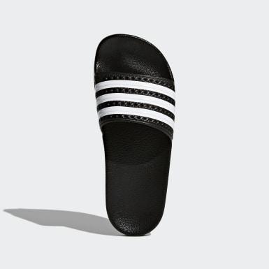 Děti Originals černá Pantofle Adilette