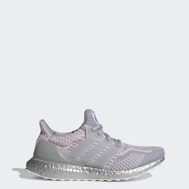Women Running Grey Ultraboost 5.0 DNA Shoes
