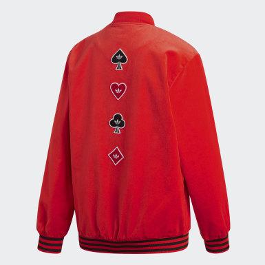 красный Куртка V-Day