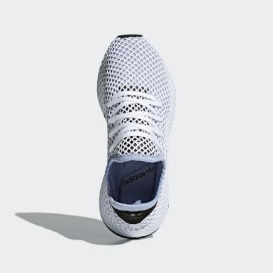 Women Originals Blue Deerupt Runner Shoes