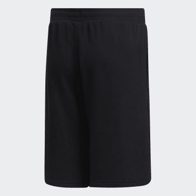 Shorts Brilliant Basics Preto Meninos Sport Inspired