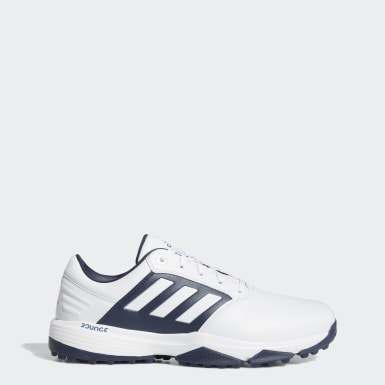 Men Golf White 360 Bounce SL Golf Shoes