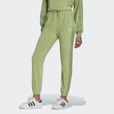 Frauen Originals LOUNGEWEAR adidas Slim Jogginghose ​ Grün