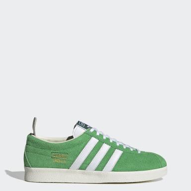 Sapatos Gazelle Vintage Verde Mulher Originals