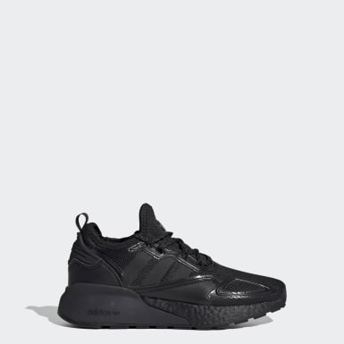 Youth 8-16 Years Originals Black ZX 2K Boost Shoes