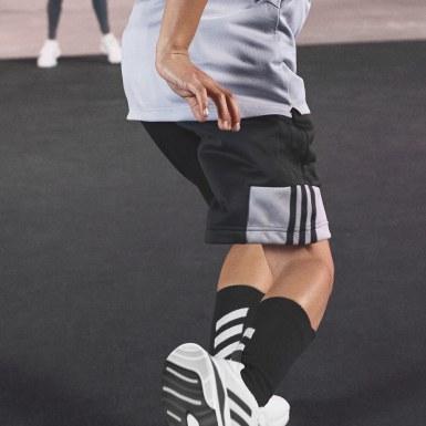 เด็กผู้ชาย โยคะ สีดำ กางเกงขาสั้น HEAT.RDY