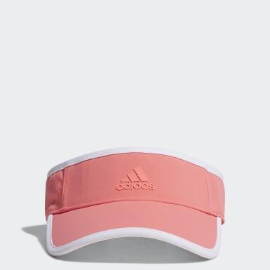 ผู้หญิง กอล์ฟ สีชมพู หมวกไวเซอร์ Cool UV