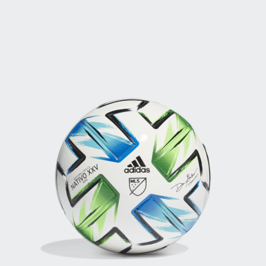 Men's Soccer White MLS Nativo XXV Mini Ball