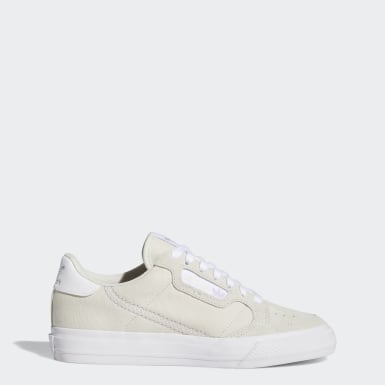 Kvinder Originals Beige Continental Vulc sko