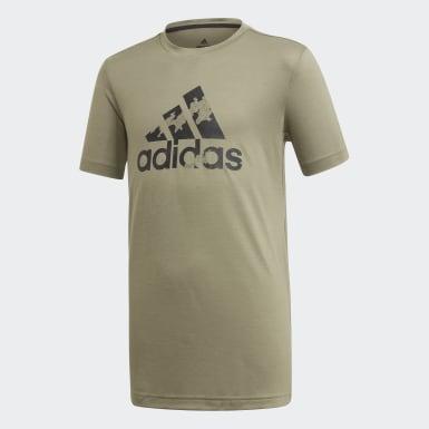 T-shirt AEROREADY Prime vert Adolescents Entraînement