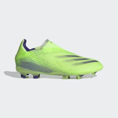 X Ghosted+ Firm Ground Fotballsko Grønn