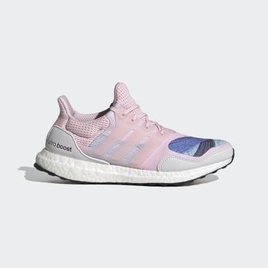 Kvinder Løb Pink Ultraboost S&L DNA sko