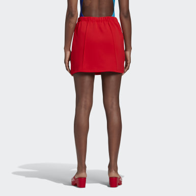 Women's Originals Red Lotta Volkova Tennis Skirt