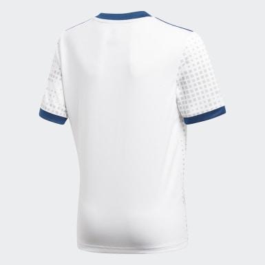 белый Гостевая игровая футболка сборной России