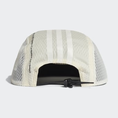 Feldhockey Five-Panel Power Kappe Weiß