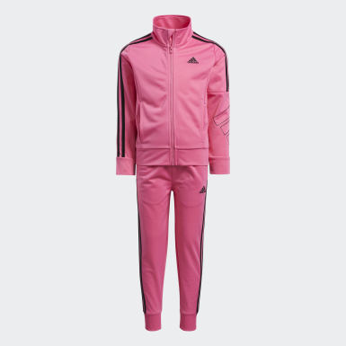 Children Training Pink Event Tricot Set