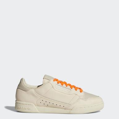 Chaussure Pharrell Williams Continental 80 Beige Femmes Originals