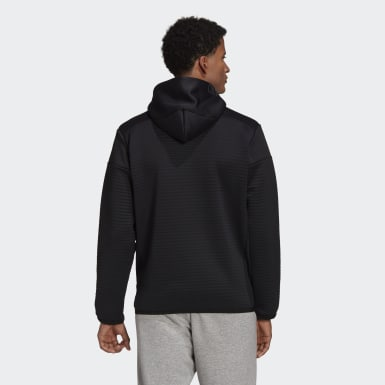 Heren Athletics Zwart adidas Z.N.E. COLD.RDY Pullover Sweatshirt