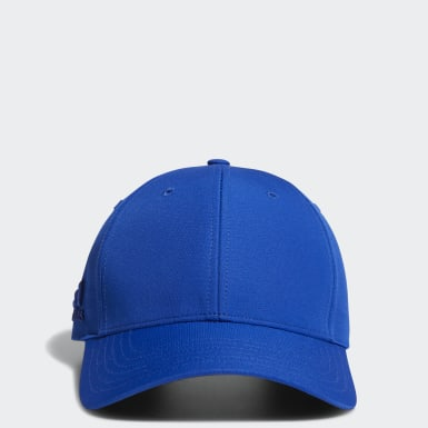 Heren Golf Blauw Crestable Performance Pet