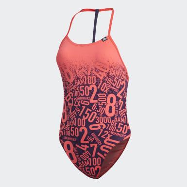 Bañador Pro Collab Rojo Mujer Natación