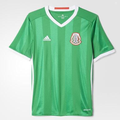 Jersey local México 2016 para niño Verde Niño Fútbol
