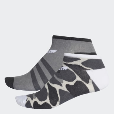 Originals Multicolor Trefoil Liner Socks 2 Pairs
