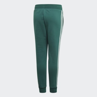 Pantalón 3 Tiras Verde Niño Originals
