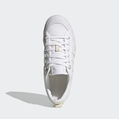 Zapatilla Nizza Platform Blanco Mujer Originals