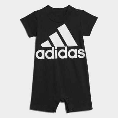 Barboteuse Shortie Cotton noir Bambins & Bebes Entraînement