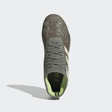Chaussure Predator 19.1 Terrain souple Vert Enfants Football