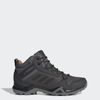 Erkek TERREX Grey Terrex AX3 Mid GORE-TEX Yürüyüş Ayakkabısı